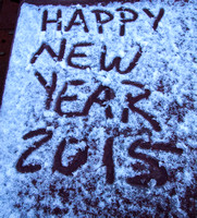New Year's snow