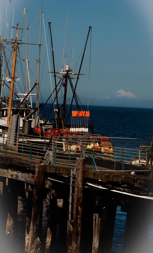 Fishing Trawler in Port Angeles, WA